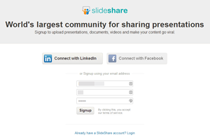 how to get website traffic with slideshare a local buzz